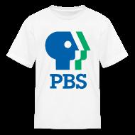 Kids' Shirts ~ Kids' T-Shirt ~ PBS Old logo kids tee shirt