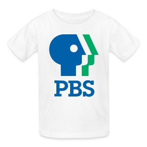 PBS Old logo kids tee shirt  - Kids' T-Shirt