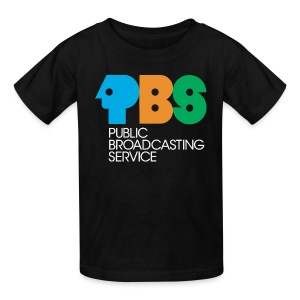 PBS Retro logo kids tee shirt  - Kids' T-Shirt