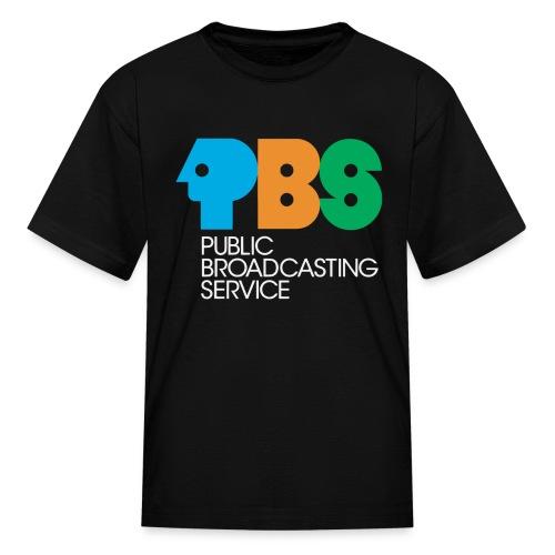 PBS Retro logo kids tee shirt  - Kids' T-Shirt