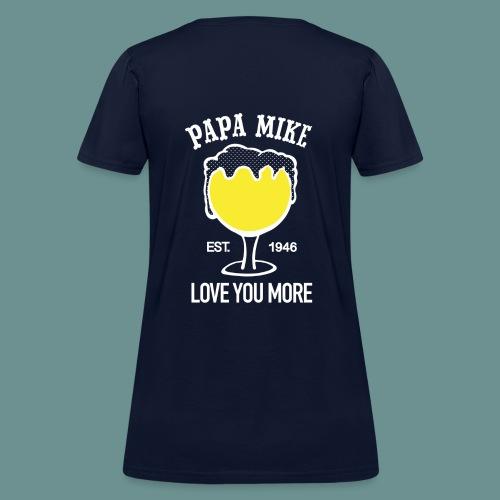 WOMENS SHIRT- Papa Mike - Women's T-Shirt