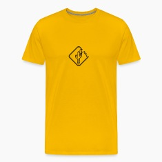 caution sign warning danger desert thirst cactus T-Shirts