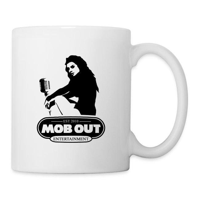 MOB OUT ENT. MALE LOGO COFFEE MUG
