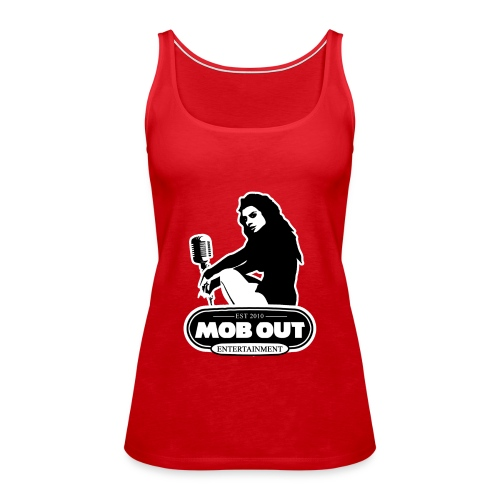 MOB OUT ENT LADIES LOGO TANK TOP - Women's Premium Tank Top