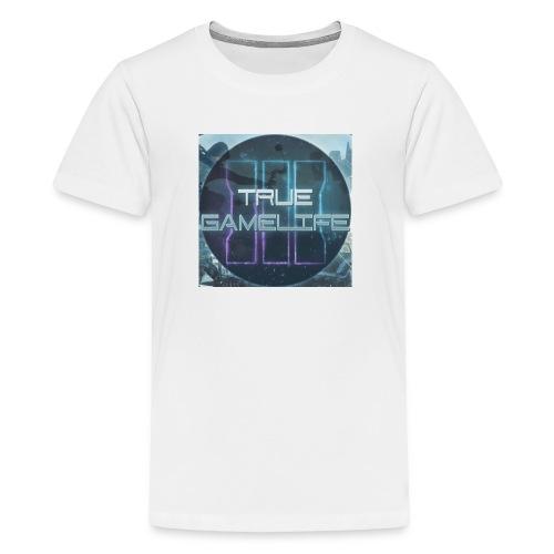Kids' Premium T-Shirt With Logo - Kids' Premium T-Shirt