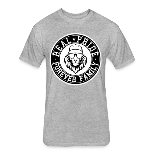 Men's Lion Head Tee - Fitted Cotton/Poly T-Shirt by Next Level