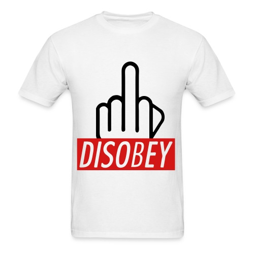 DISOBEY - Men's T-Shirt