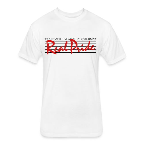 Men's Retro Tee - Fitted Cotton/Poly T-Shirt by Next Level