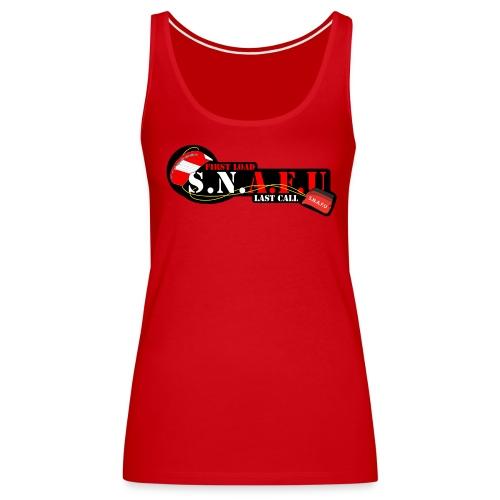 S.N.A.F.U Ladies Tank - Women's Premium Tank Top