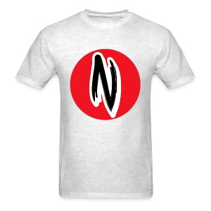 KDARNØLD Logo Tee With Red Circle - Men's T-Shirt