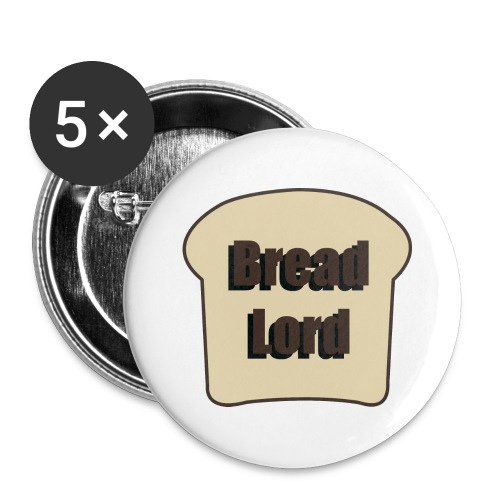 5 pack Breadlord Buttons - Large Buttons