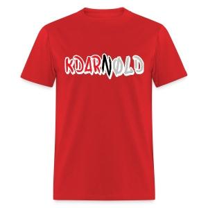 KDARNØLD Bar Logo Tee - Men's T-Shirt