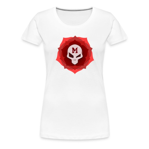 Womens Mal Rose - Women's Premium T-Shirt