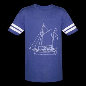 sailing boat - Vintage Sport T-Shirt