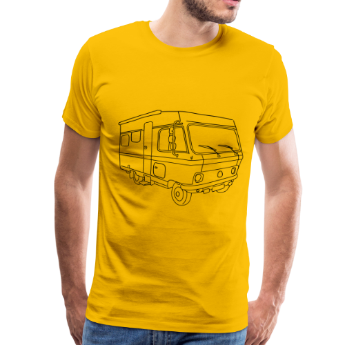 Caravan (mobile home) - Men's Premium T-Shirt