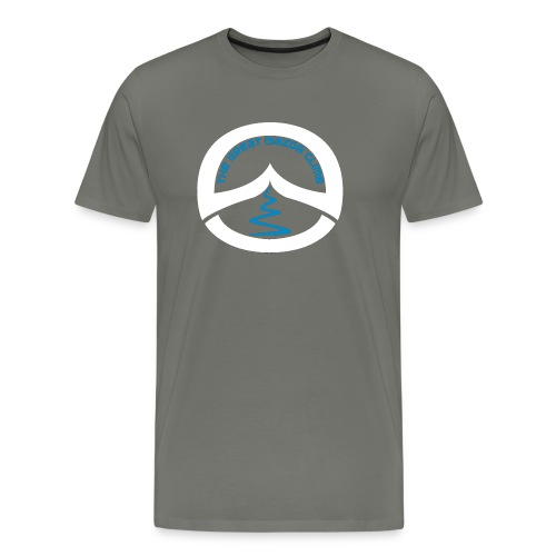 Great Mazda Climb with white and blue logo - Men's Premium T-Shirt