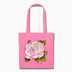 Pretty Pink rose Bag