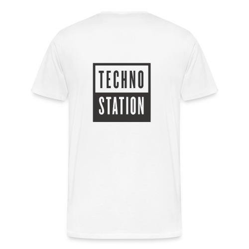 techno station - Men's Premium T-Shirt