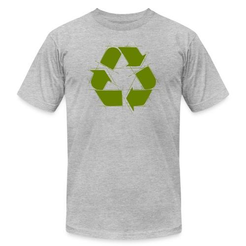 Recycle Logo Design - Men's Fine Jersey T-Shirt