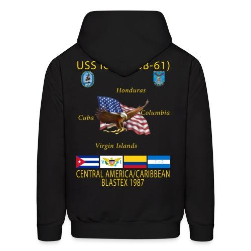 USS IOWA 1987 CRUISE HOODIE - Men's Hoodie