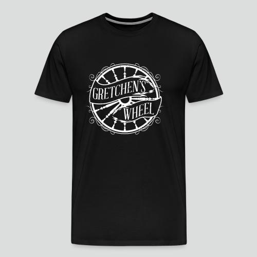 Men's T-Shirt (White Logo) Available Up To 5X - Men's Premium T-Shirt