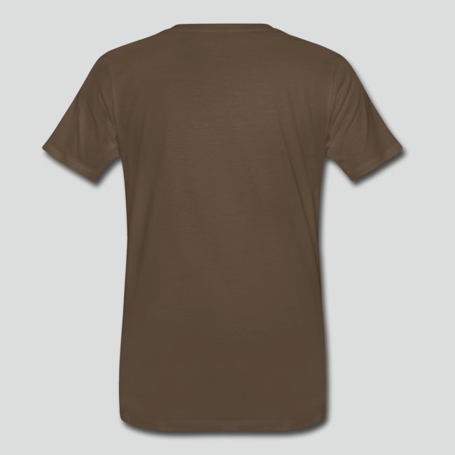 Men's T-Shirt (Tan Logo) Available Up To 5X
