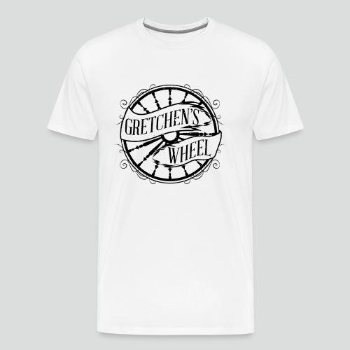 Men's T-Shirt (Black Logo) Available Up To 5X - Men's Premium T-Shirt