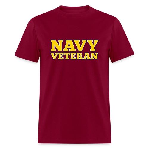 Navy Veteran T-Shirts - Men's T-Shirt