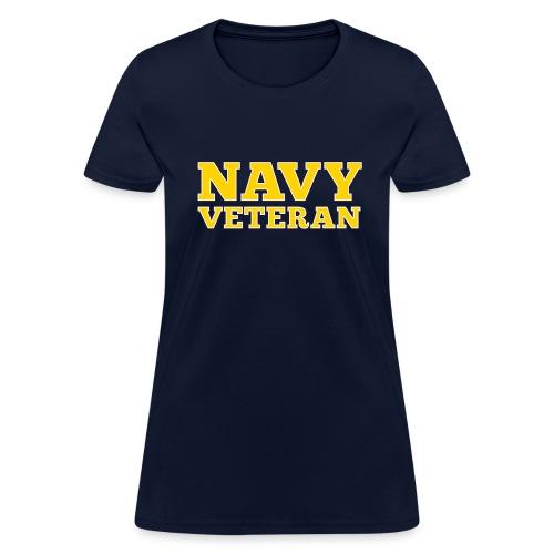 Navy Veteran Women's T-Shirts - Women's T-Shirt