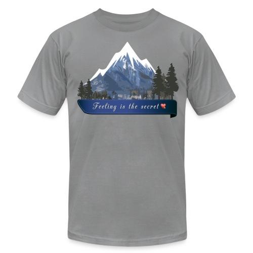 Peaceful Mountain - Men's Fine Jersey T-Shirt