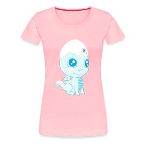 Women's Premium WB's Cold Dragon T-Shirt  - Women's Premium T-Shirt