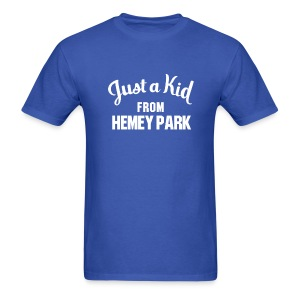 Just a Kid from Hemey Park - Men's T-Shirt