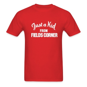 Just a Kid from Fields Corner - Men's T-Shirt