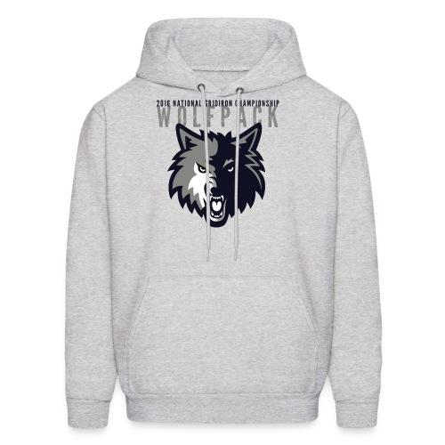 Wolfpack 2016 Basic Hoodie - Grey - Men's Hoodie