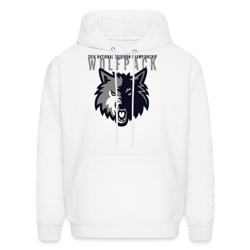 Wolfpack 2016 Basic Hoodie - White - Men's Hoodie