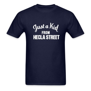 Just a Kid from Hecla Street - Men's T-Shirt