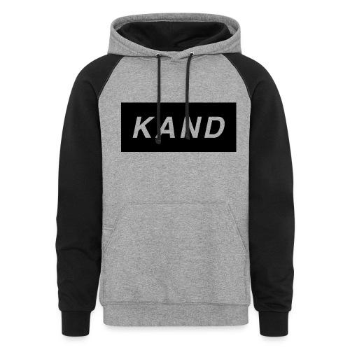 Kand Hoodie - Colorblock Hoodie
