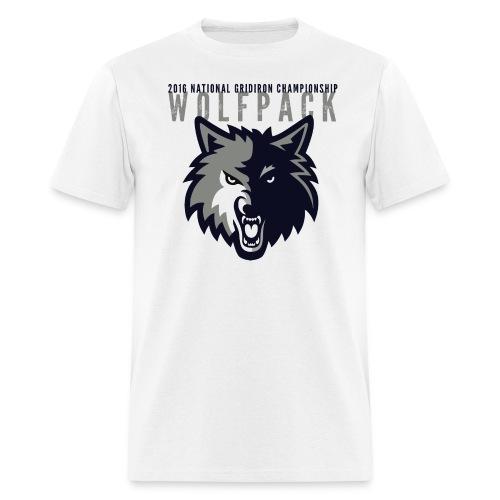 Wolfpack 2016 Basic T-Shirt - White - Men's T-Shirt