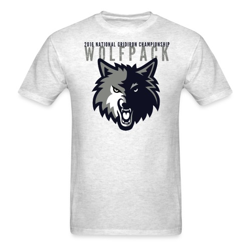 Wolfpack 2016 Basic T-Shirt - Grey - Men's T-Shirt