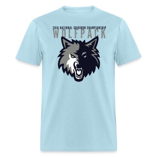 Wolfpack 2016 Basic T-Shirt - Blue - Men's T-Shirt