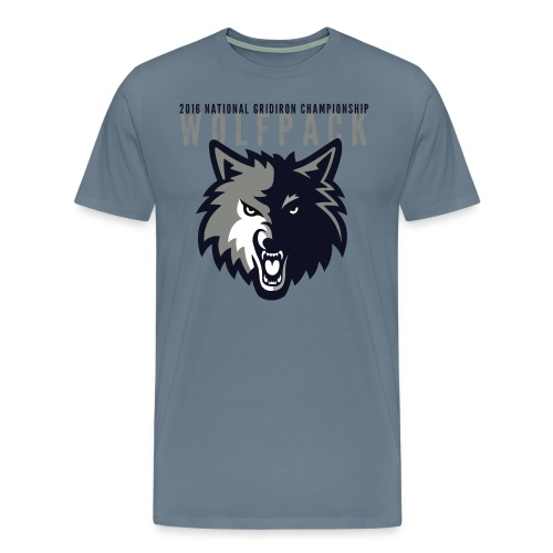 Wolfpack 2016 Basic Premium T-Shirt - Blue - Men's Premium T-Shirt