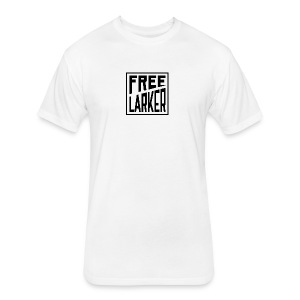 FL BLACK ON TEE - Fitted Cotton/Poly T-Shirt by Next Level