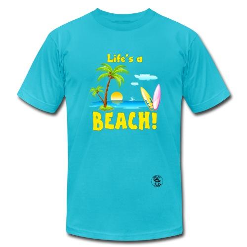 Life's a Beach Men's T-Shirt - Men's  Jersey T-Shirt
