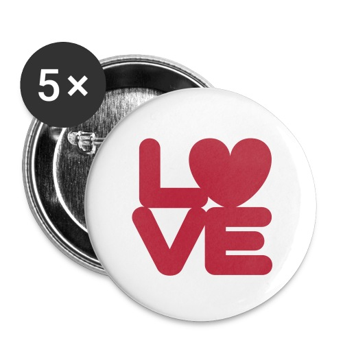 LOVE ♥ 01 ♥ - Small Buttons