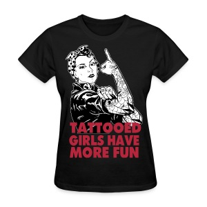 TATTOOED GIRLS - Women's T-Shirt