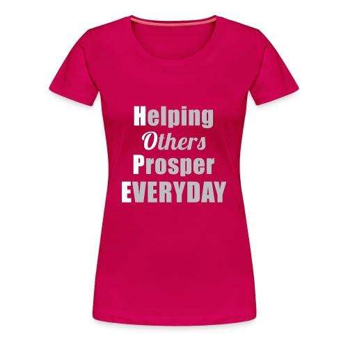 H.O.P.E Women's Tee - Women's Premium T-Shirt