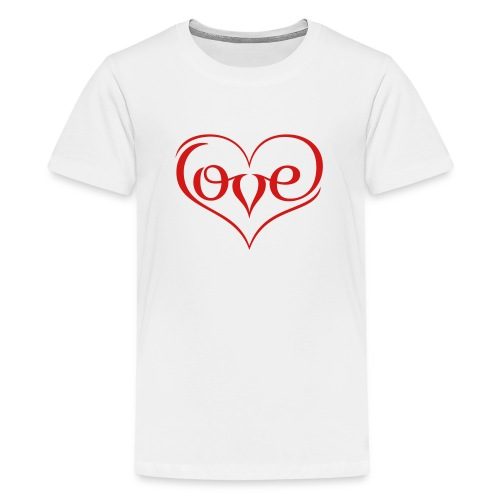 LOVE ♥ 02 ♥ - Kids' Premium T-Shirt