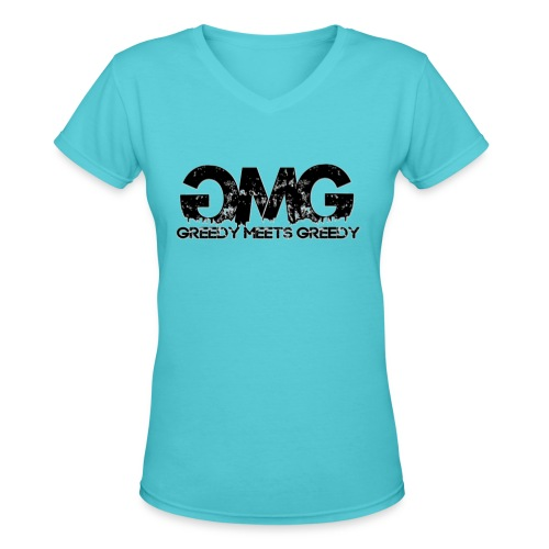 GmG Women's Tee - Women's V-Neck T-Shirt