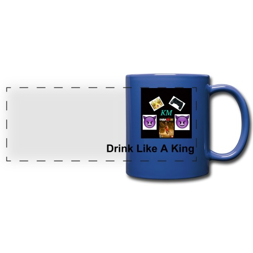 KingMitchell  - Full Color Panoramic Mug