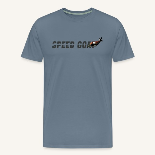 Speed Goat Men's Tee - Men's Premium T-Shirt